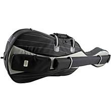 Double Bass Bag 4/4 Size Black Exterior, Black Interior
