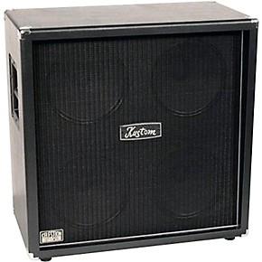 kustom double cross dc412 4x12 guitar speaker cabinet black straight guitar center. Black Bedroom Furniture Sets. Home Design Ideas
