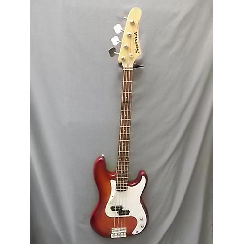Samick Double Cut Bass Electric Bass Guitar