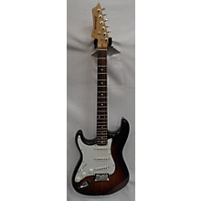 Johnson Double Cut Left Handed SSS Solid Body Electric Guitar
