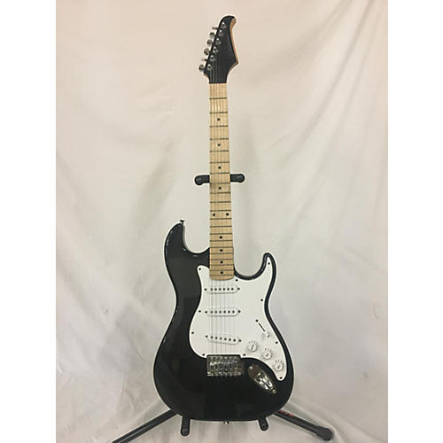 Silvertone Double Cut Solid Body Electric Guitar