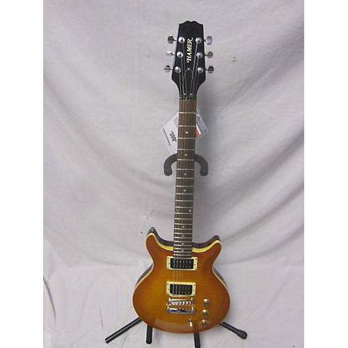 Hamer Double Cutaway Electric Solid Body Electric Guitar