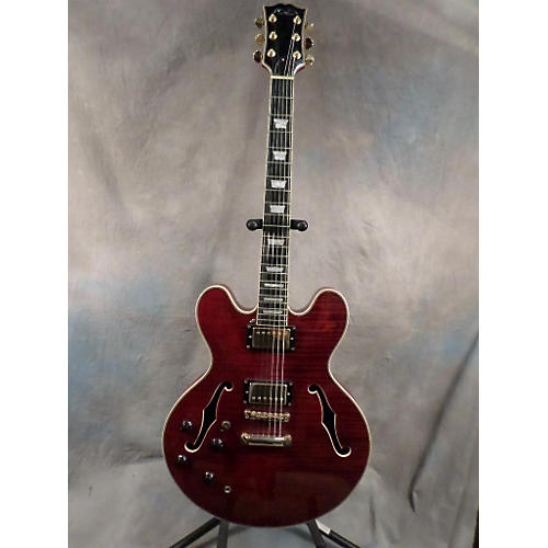 Michael Dolsey Double Cutaway Semi Hollow Hollow Body Electric Guitar