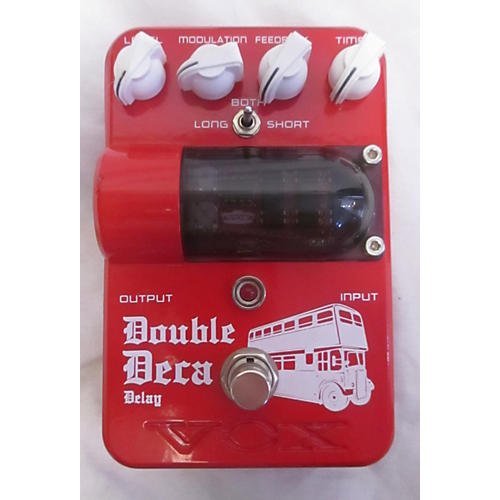 Vox Double Deca Delay Effect Pedal