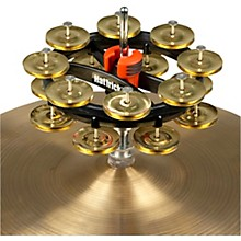 Double Hat Trick G2 Hi-Hat Tambourine 6 in. Brass