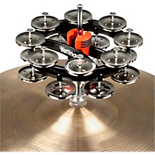 Double Hat Trick G2 Hi-Hat Tambourine 6 in. Nickel Jingles