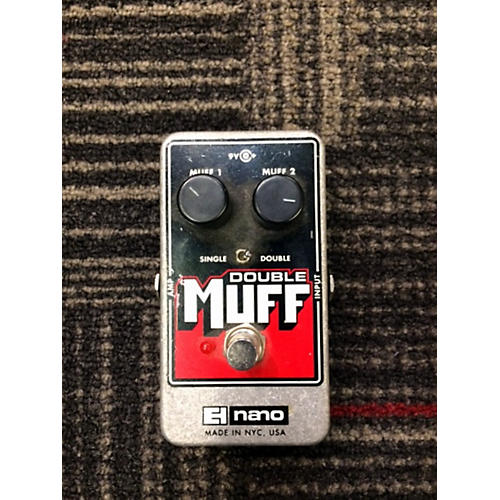 Electro-Harmonix Double Muff Nano Distortion Effect Pedal