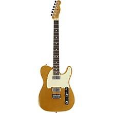 Double TV Jones Relic Telecaster Electric Guitar Gold Top