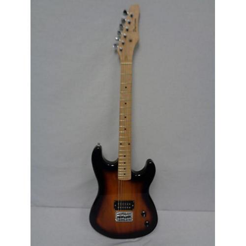 Davison Double-cut Solid Body Electric Guitar