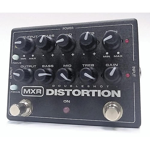 MXR Doubleshot Distortion Effect Pedal