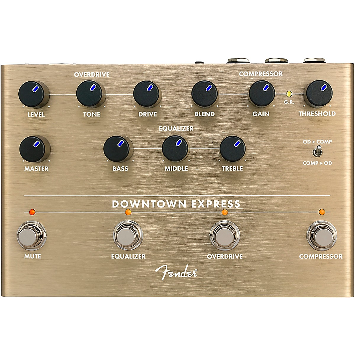 Fender Downtown Express Bass Multi-Effects Pedal