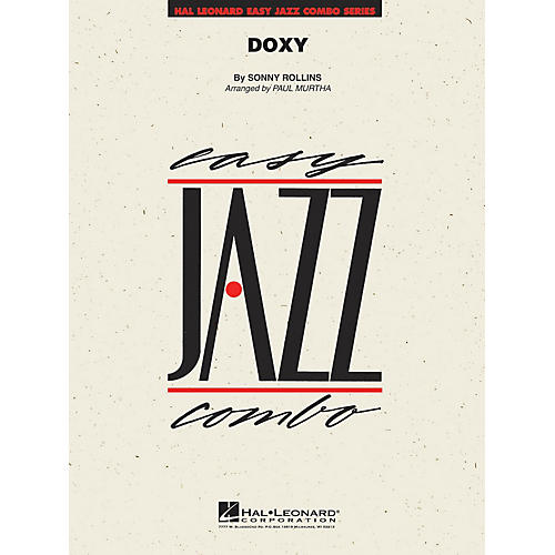 Hal Leonard Doxy Jazz Band Level 2 by Sonny Rollins Arranged by Paul Murtha
