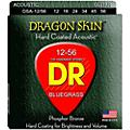 DR Strings Dragon Skin Clear Coated Acoustic Bluegrass Guitar Strings (12-56) thumbnail