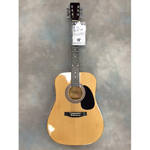 In Store Used Dread Acous Steel String Natural Acoustic Guitar