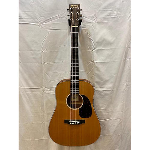 used martin dreadnought junior acoustic electric guitar natural guitar center. Black Bedroom Furniture Sets. Home Design Ideas