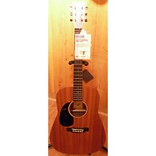 Martin Dreadnought Junior Left Handed Acoustic Guitar