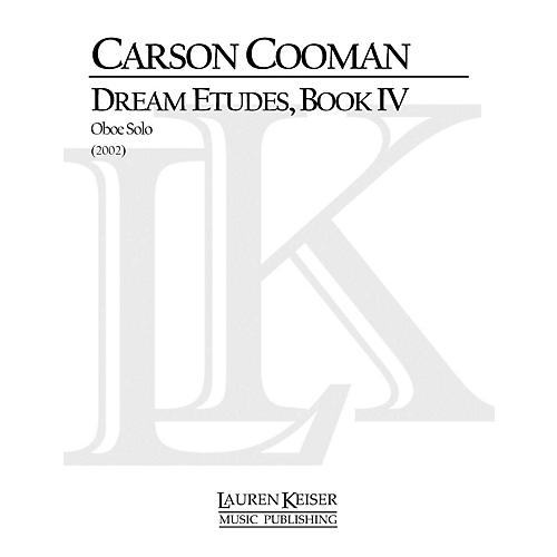 Lauren Keiser Music Publishing Dream Etudes, Book IV (Oboe Solo) LKM Music Series by Carson Cooman