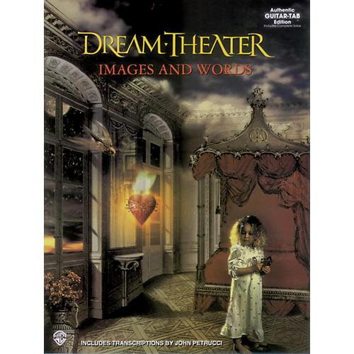 Hal Leonard Dream Theater Images & Words Guitar Tab Book