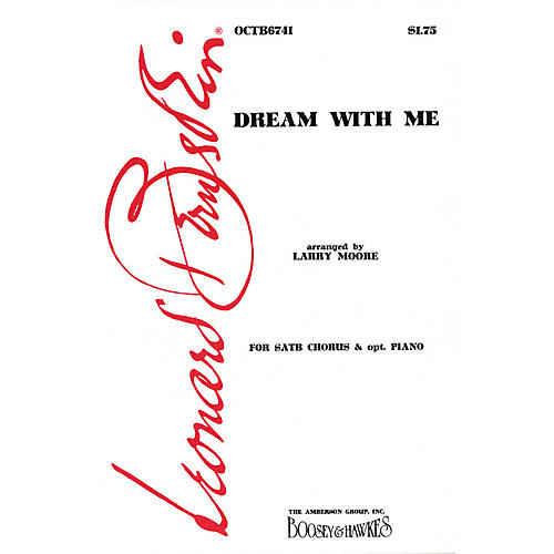 Hal Leonard Dream with Me (from Peter Pan) TTBB Arranged by Larry Moore