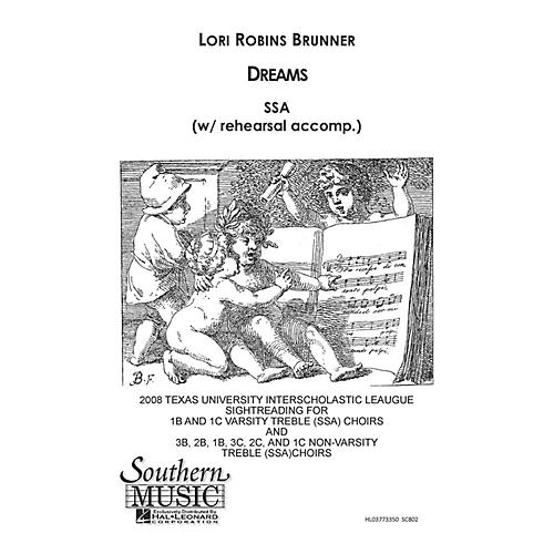 Southern Dreams SSA Composed by Lori Robins Brunner