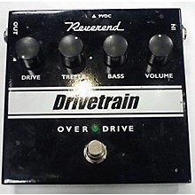 Reverend Drive Train Effect Pedal