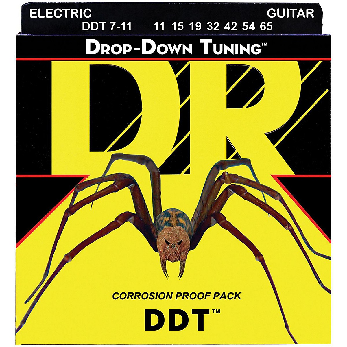 DR Strings Drop Down Tuning DDT Electric 7 String Set