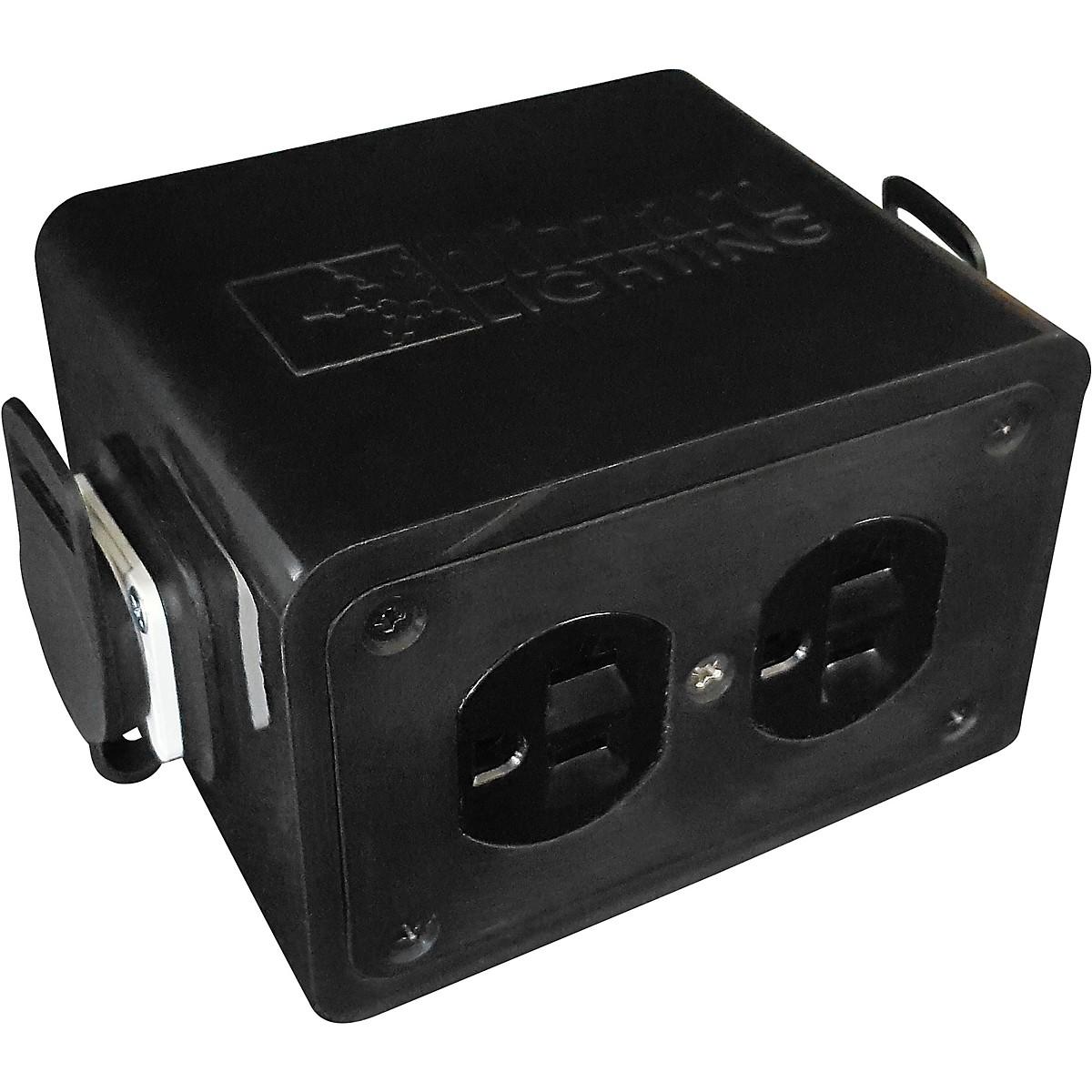 Blizzard Drop PC PowerCON to Edison Stage Power Drop Box