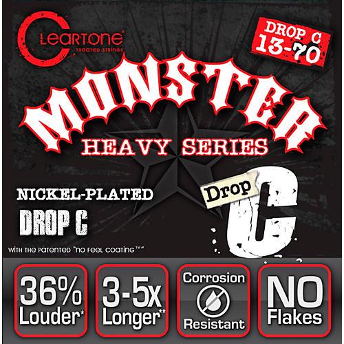 Cleartone Drop Tune Electric Guitar Strings Drop C (13-70) NPS