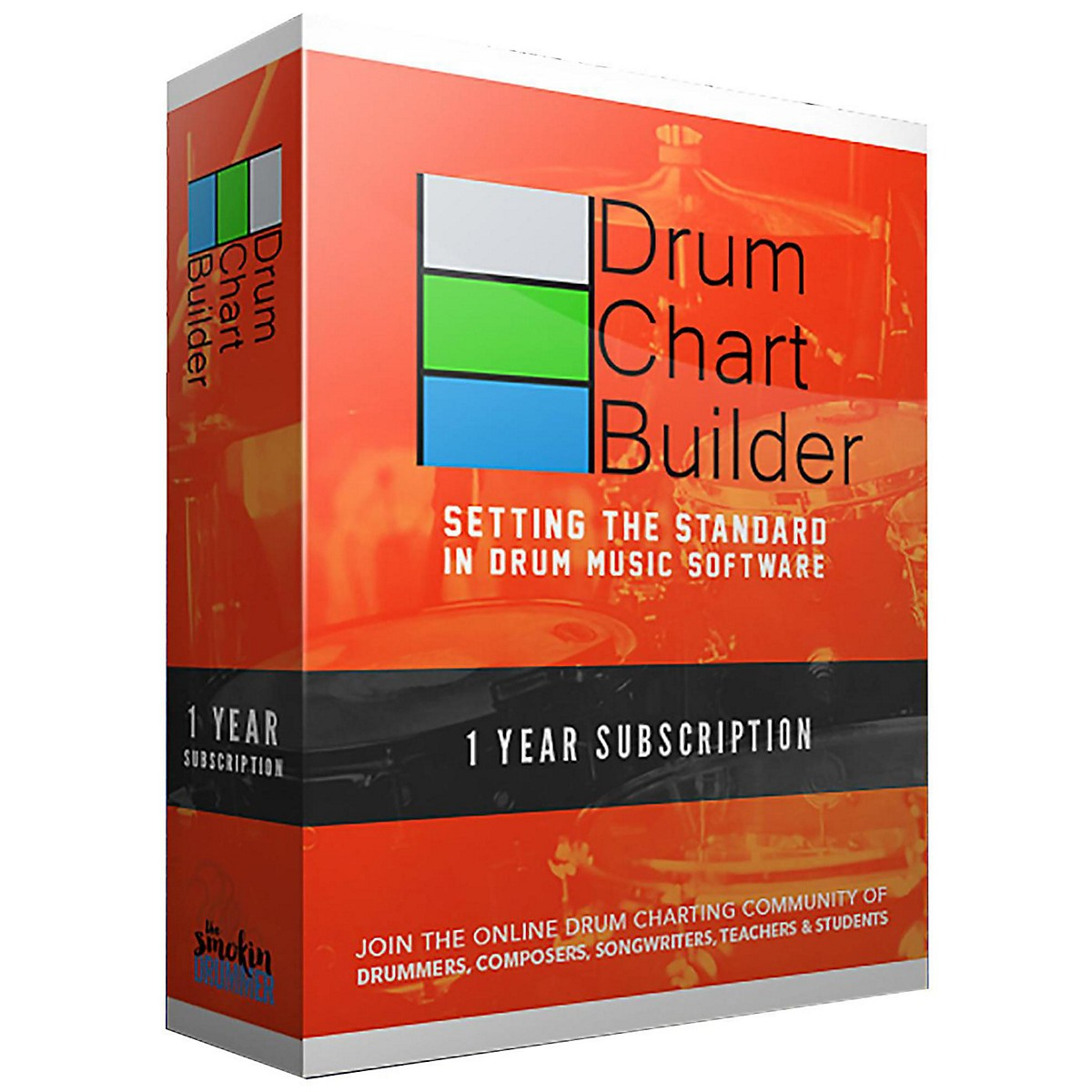 Drum Chart Builder Drum Chart Builder 1 Year Subscription