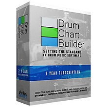 Drum Chart Builder Drum Chart Builder 2 Year Subscription