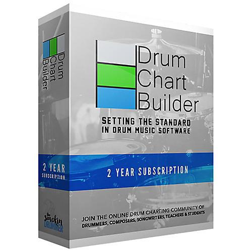 Drum Chart Builder Drum Chart Builder 2 Year Subscription