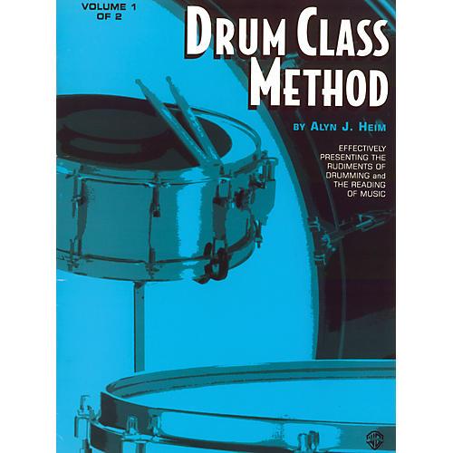 Alfred Drum Class Method Volume I