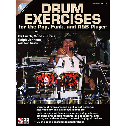 Cherry Lane Drum Exercises for The Pop, Funk, And R&B Player