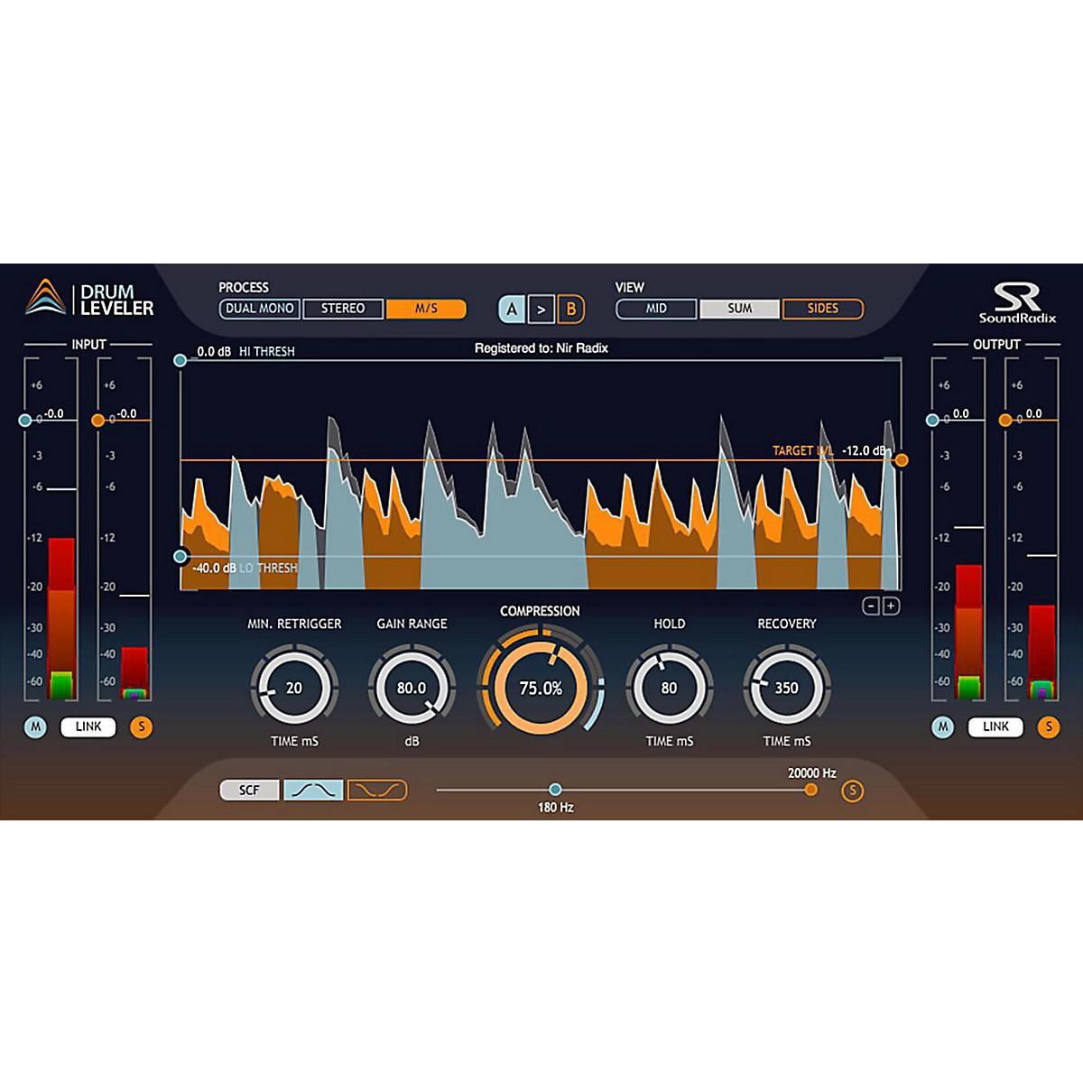 Sound Radix Drum Leveler Software Download