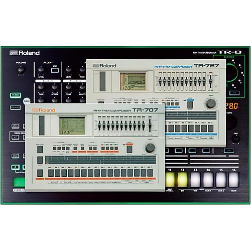 Roland Drum Machine Expansion for TR-8 Software Download