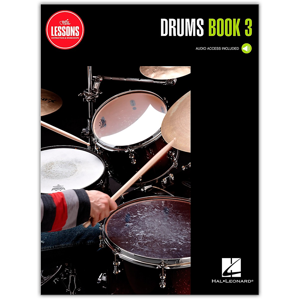 Guitar Center Drum Method Book 3 - Guitar Center Lessons (Book/Audio)