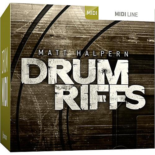 Toontrack Drum Riffs MIDI Expansion