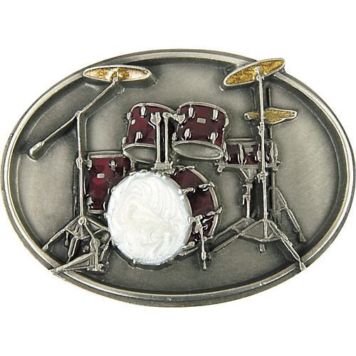 Gear One Drum Set Belt Buckle