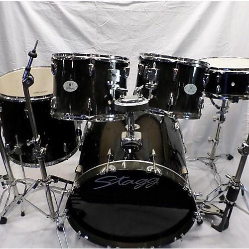 used stagg drum set drum kit guitar center. Black Bedroom Furniture Sets. Home Design Ideas