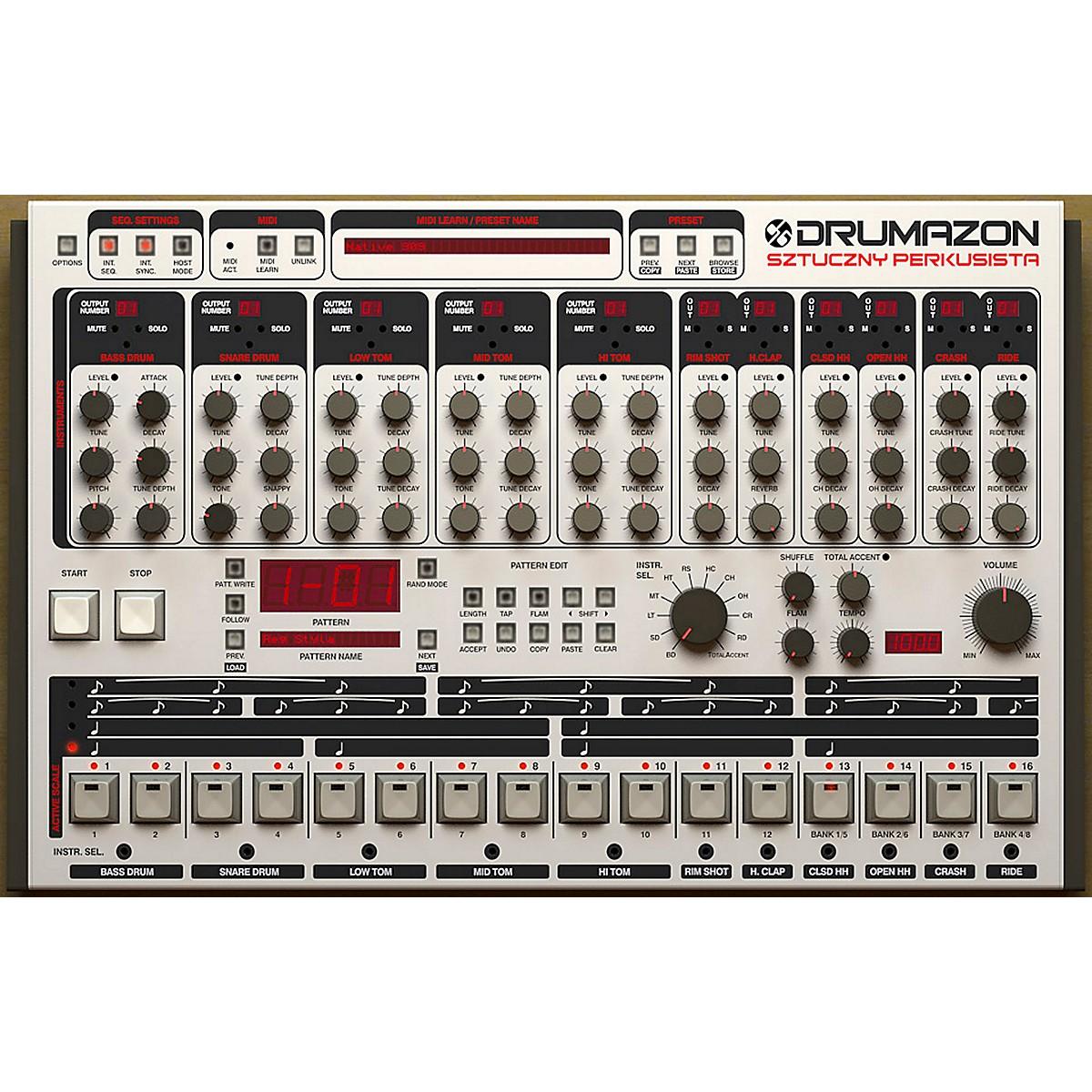 D16 Group Drumazon TR909 Emulation Software (VST/AU)