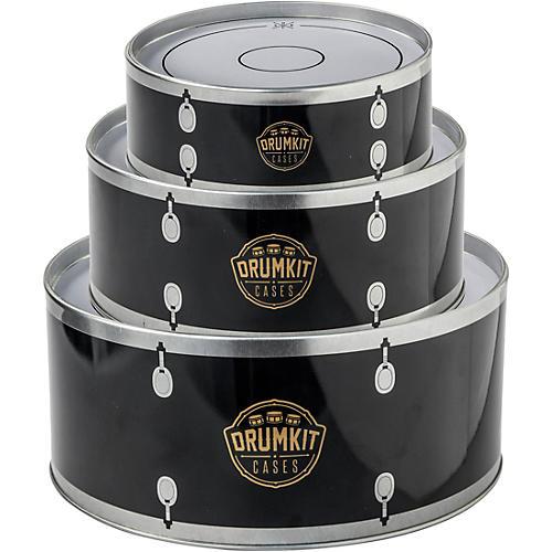 SK Drumkit Storage Tin Cases - Black