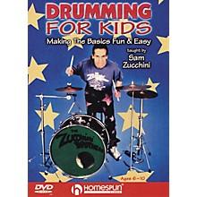 Homespun Drumming For Kids - Making the Basics Easy (DVD)