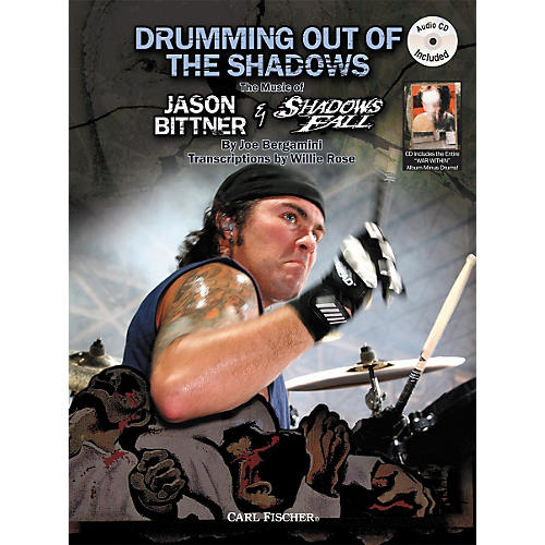 Carl Fischer Drumming Out of the Shadows Book/CD