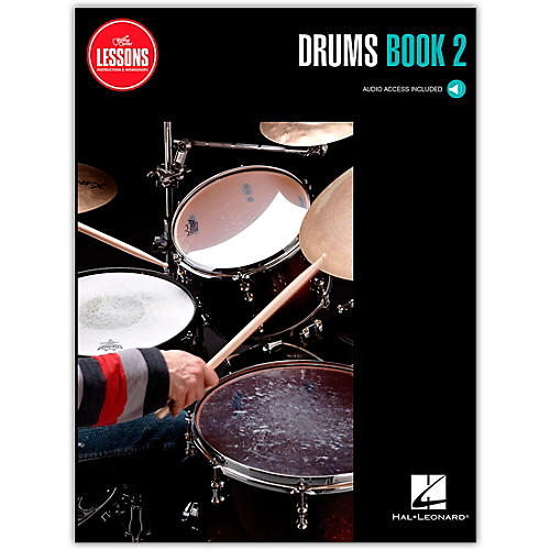 Guitar Center Drums Method Book 2 - Guitar Center Lessons (Book/Audio)