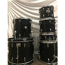 Silvertone Drumset Drum Kit