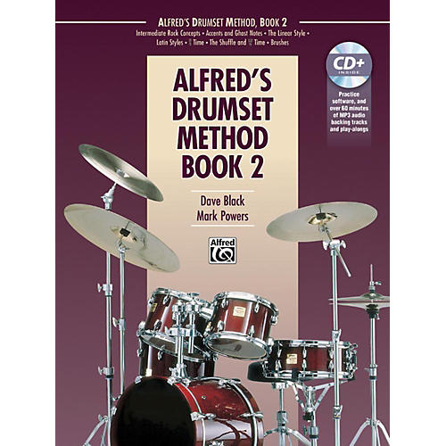 Alfred Drumset Method Book 2 & CD