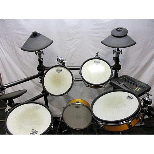 Used yamaha dtxtreme electric drum set guitar center for Electric drum set yamaha