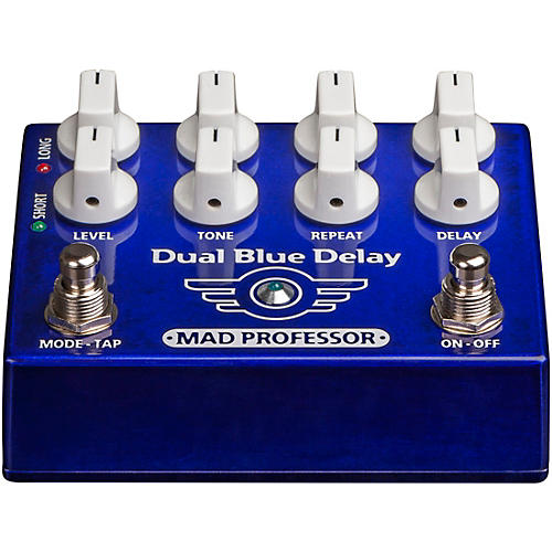 Mad Professor Dual Blue Delay Effects Pedal