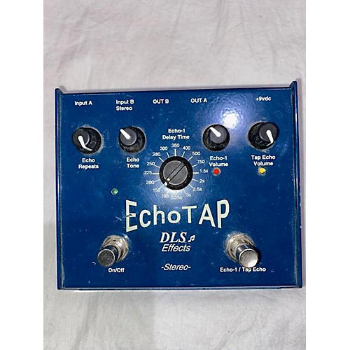DLS Effects Dual Channel Stereo Echo Delay Effect Pedal