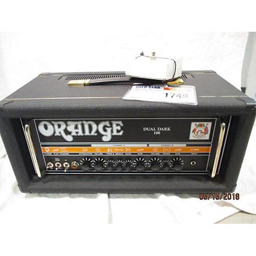 Orange Amplifiers Dual Dark 100 Tube Guitar Amp Head